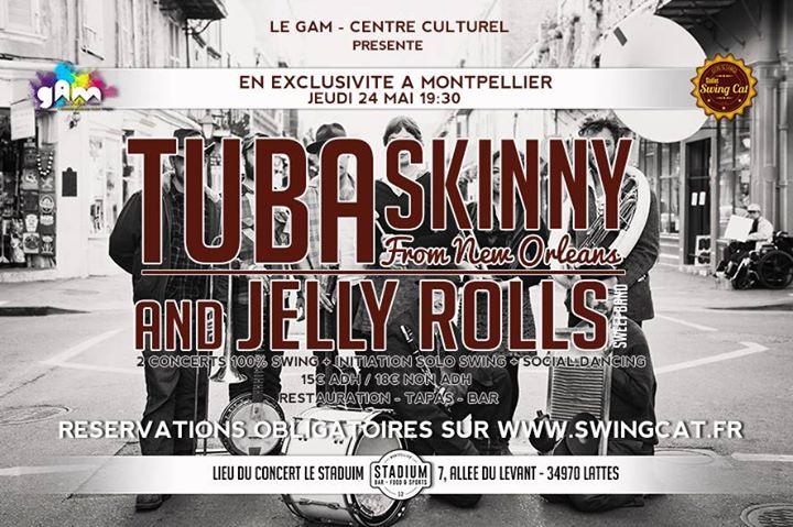 Tuba Skinny à Montpellier
