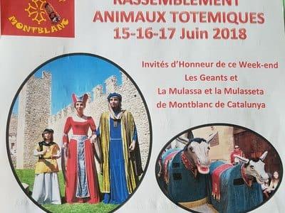 Rassemblement D'animaux Totémiques Montblanc