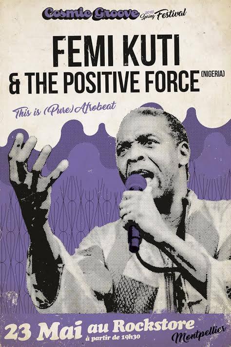 Femi Kuti & The Positive Force , Rockstore- Montpellier