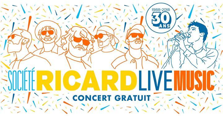 Isaac Delusion X Moodoïd X Mnnqns €� Societe Ricard Live Music
