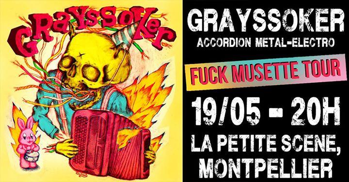 Grayssoker @La Petite Scène, Montpellier