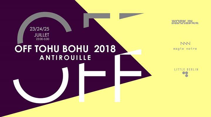 Off Tohu Bohu 2018