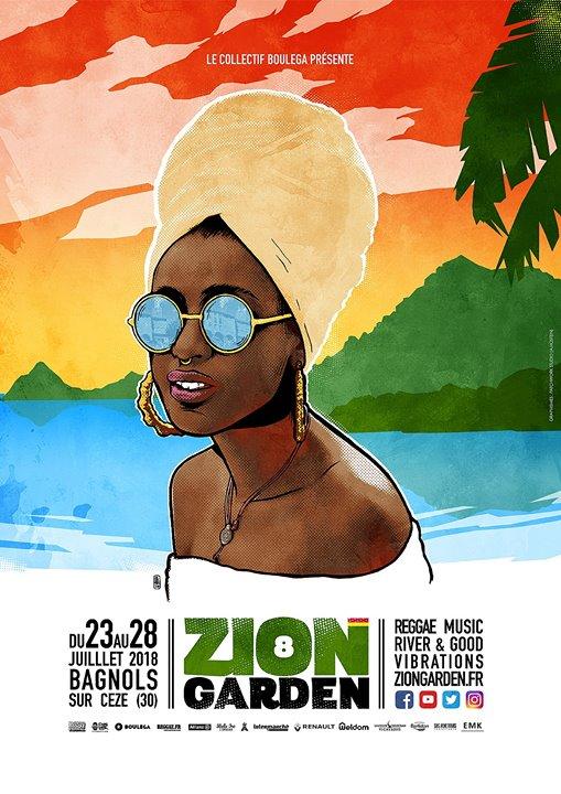 ZION GARDEN #8: Reggae Music, River & Good Vibrations