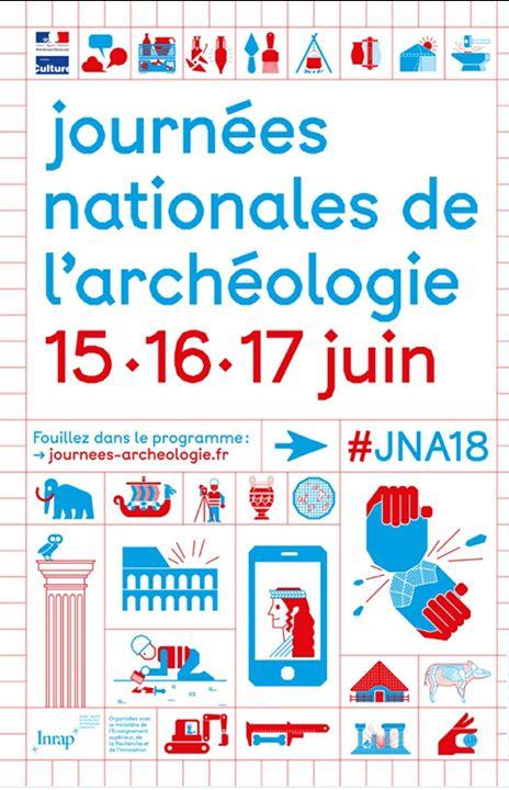 Journées Nationales De L'archéologie Dans L'Herault 2018