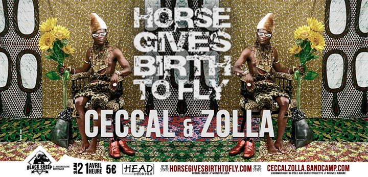 Concert Noise : Horse Gives Birth To Fly, Ceccal & Zolla