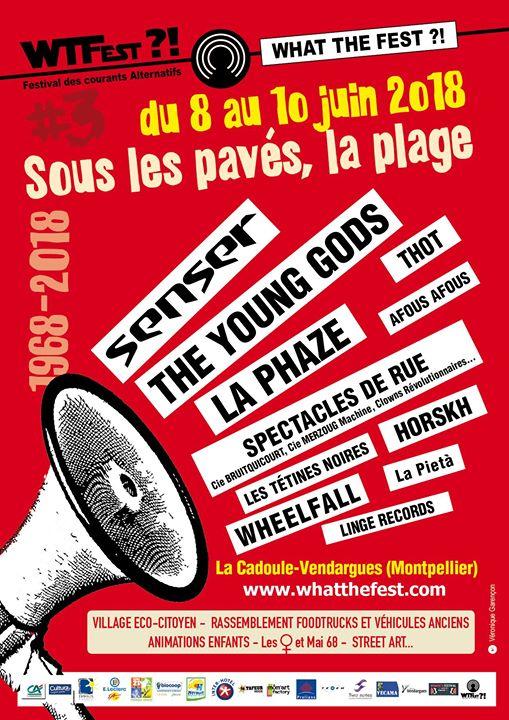 WHAT The Fest 3ème édition - Sous Les Pavés, La Plage