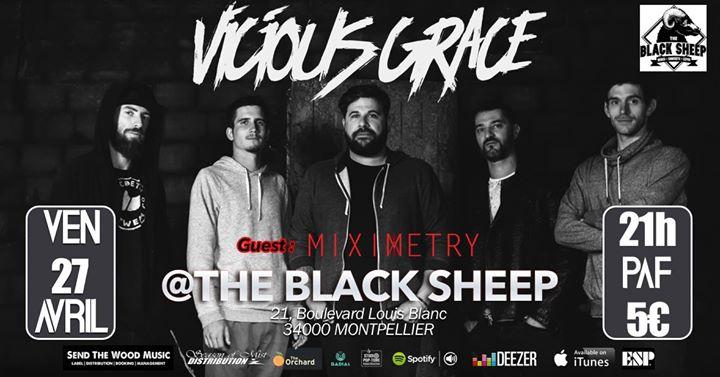 Concert Rock : Vicious Grace Et Miximetry