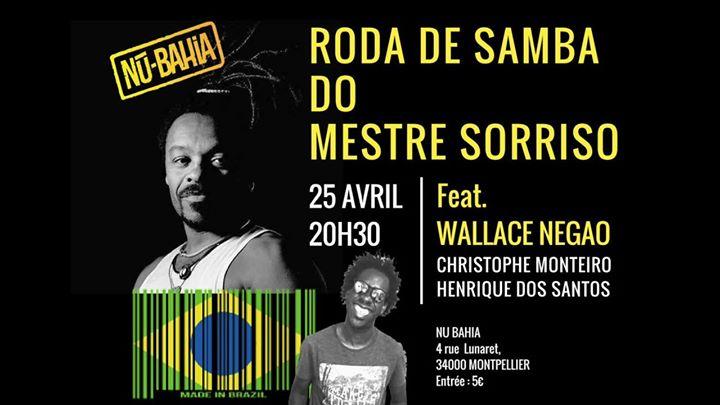 RODA De SAMBA Do Mestre Sorriso Feat. Wallace NEGAO Au Nu-Bahia
