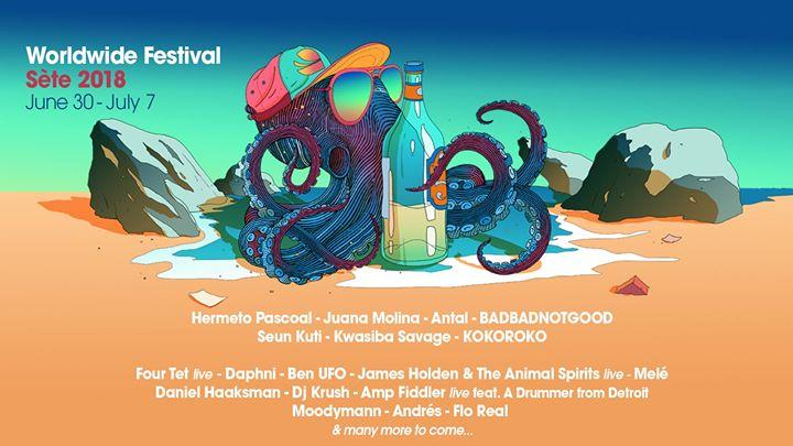 Worldwide Festival Sète 2018