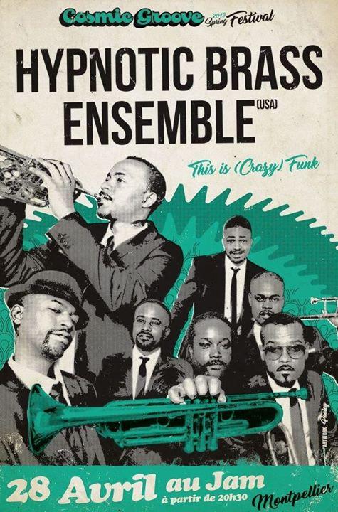 Hypnotic Brass Ensemble - Le Jam (Montpellier)