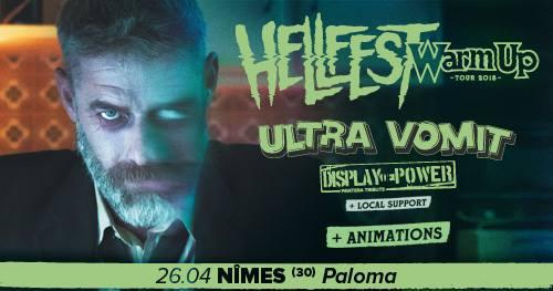 Hellfest Warm Up Tour 2K18 : Nîmes | Paloma