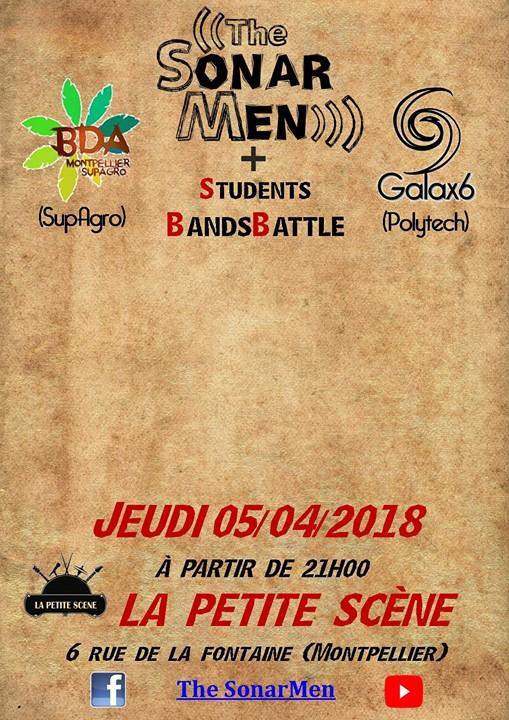 The SonarMen + Students Bands Battle @La Petite Scène