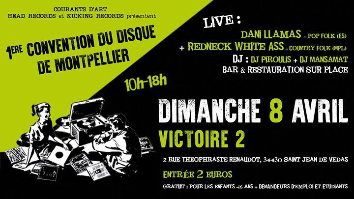 1° Convention Du Disque De Montpellier / St Jean De Vedas