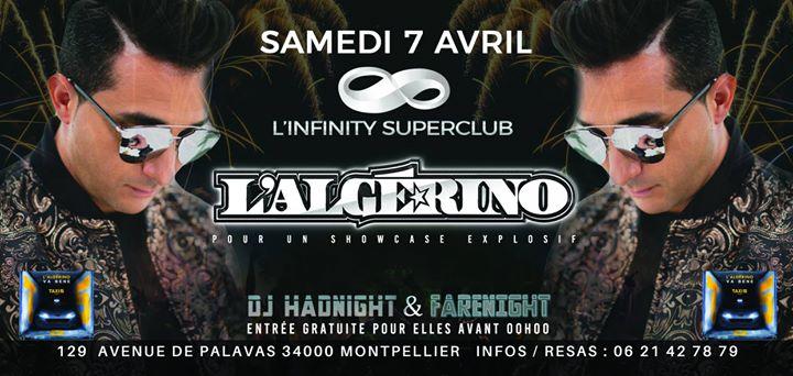 L'algerino En Showcase A L'infinity Superclub