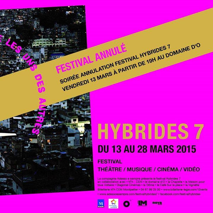 Festival Hybrides Montpellier